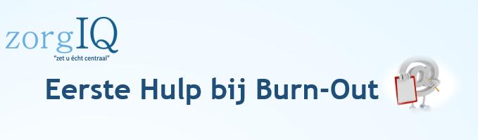 Eerste Hulp Bij Burn-Out
